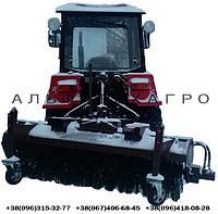 Щетка дорожная гидравлическая к трактору, фото 1