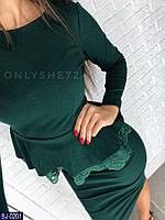 Костюм женский блуза+юбка, фото 1