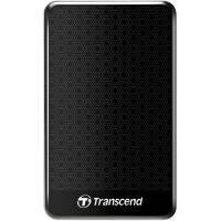 "Внешний жесткий диск TRANSCEND 1TB TS1TSJ25A3K USB 3.0 Storejet 2.5"" Черный"