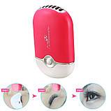 Вентилятор  для сушки ресниц с USB, фото 3