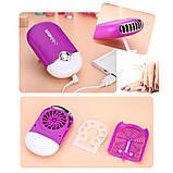 Вентилятор  для сушки ресниц с USB, фото 8