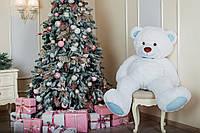 Большая мягкая игрушка мишка Yarokuz Билли 150 см Белый, фото 1