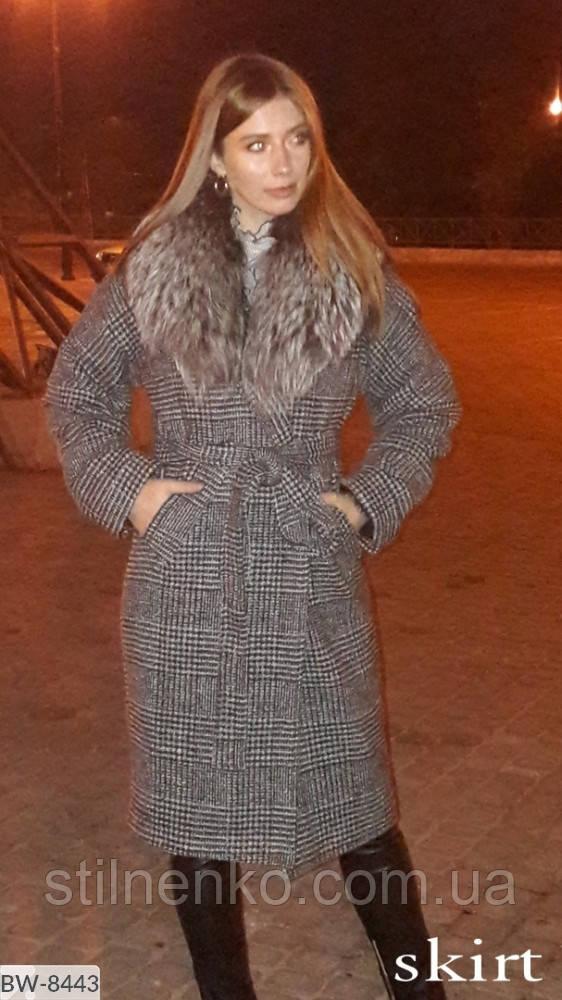 Пальто  с утеплителем на сатиновой подкладке