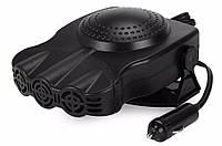 🔝 Автомобильный обогреватель салона от прикуривателя, Aeroterma si Ventilator 12v Чёрный, 150 W (V 1) | 🎁%🚚