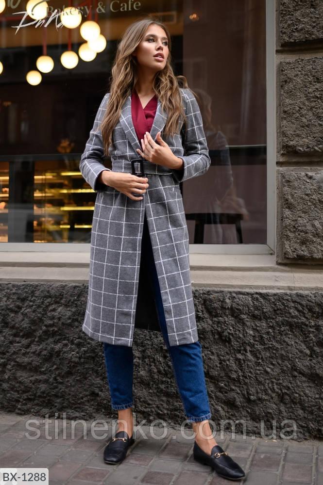 Пальто женске пояс в комплекте