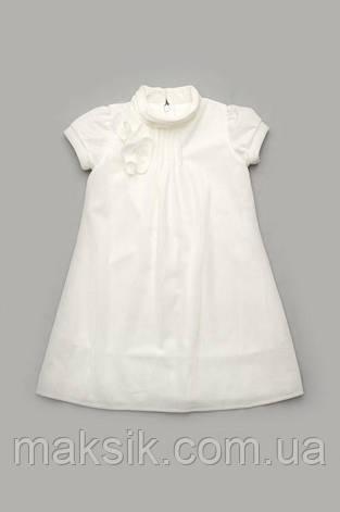 Нарядное бархатное платье синее р.110-128см, фото 2