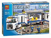 """Конструктор Bela 10420 (аналог Lego City 60044) """"Мобильный отряд полиции"""", 394 дет"""