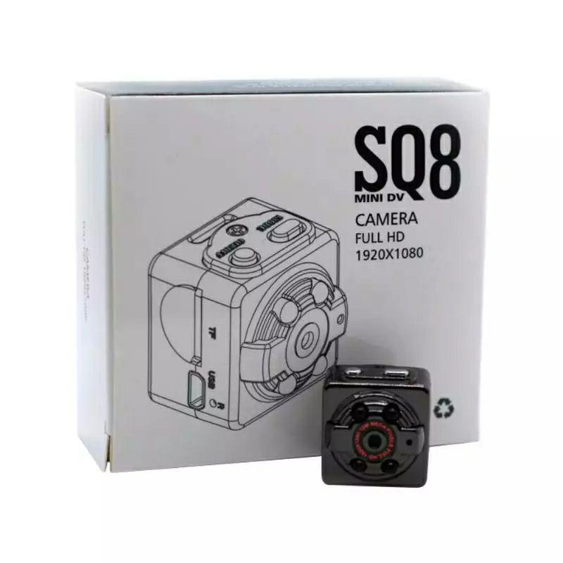 Металлическая мини камера регистратор KERUI SQ8 1080P с аккумулятором.