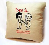 """Подушки """"Love is"""""""