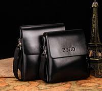 Мужская кожаная сумка Polo. Модель 451, фото 2