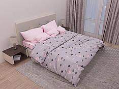 Двуспальный комплект постельного белья евро 200*220 хлопок  (12929) TM KRISPOL Украина