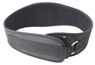 Пояс для тяжелой атлетики неопреновый SportVida SV-AG0092 (XL) Black, фото 2
