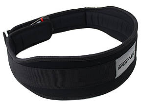 Пояс для тяжелой атлетики неопреновый SportVida SV-AG0098 (M) Black, фото 3