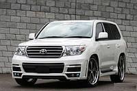 Тюнинг бампер  на Toyota Land Cruiser 200 Zeus MzSpeed