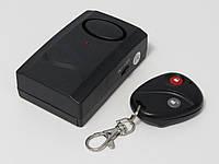 Сигнализация с датчиком вибрации J8326 для дома, дачи, гаража с дистанционным управлением, фото 1