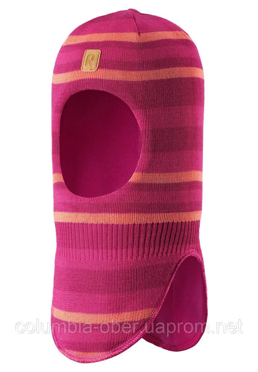 Зимняя шапка - шлем для девочки Reima Touhu 518528-4651. Размеры 46 - 54.