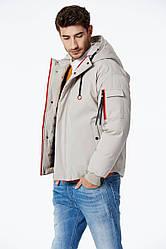 Куртка мужская єврозима белая Glo-Story