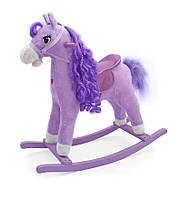 Качалка-лошадка Milly Mally Princess Фиолетовая (0076)