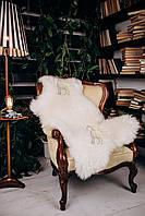 Шкура овечья белая 110х70