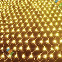 Гирлянда Сетка 200 LED 2х2 м Цвета в Ассортименте