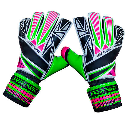 Вратарские перчатки SportVida SV-PA0004 Size 7, фото 2