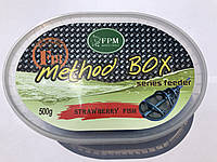 METHOD BOX 500GR + AROMA 50ML F18 Strawberry Fish & Клубніка Риба 500gr