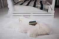"""Шкура овечья, натуральная белая,""""Люкс"""""""" 110х70"""