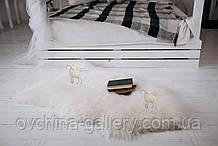 """Овеча Шкура, натуральна біла,""""Люкс"""", 110х70"""