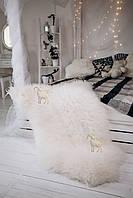 Шкура овечья натуральная белая, австралийка, фото 1