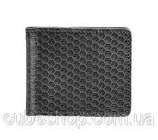 Зажим для денег кожаный 1.0 Карбон (черный)