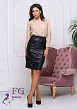 "Модная юбка из кожзама ""Sharm"", фото 2"