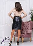 "Модная юбка из кожзама ""Sharm"", фото 3"