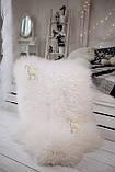 Шкура овеча натуральна біла, австралійка, фото 3