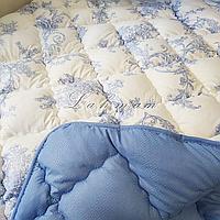 Одеяло ODA двуспальное 175х210 см.| Тепла ковдра, наповнювач холлофайбер | Одеяло ОДА стёганное теплое