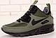 Кроссовки Мужские Зимние Nike Air Max 90 Mid Winter, найк аир макс 90 хаки, фото 2