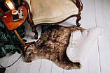 Овеча Шкура з коричневими кінчиками, розмір 120х80, фото 2