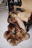 Овеча Шкура з коричневими кінчиками, розмір 120х80, фото 4
