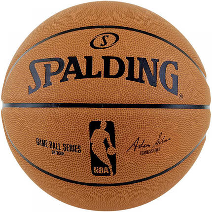 Мяч баскетбольный Spalding NBA Game Ball Replica Size 7, фото 2
