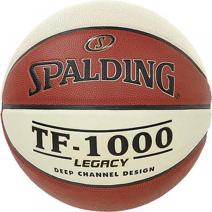 Мяч баскетбольный Spalding TF-1000 Legacy Size 7, фото 2