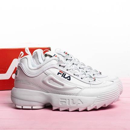Женские кроссовки в стиле FILA Disruptor ll, фото 2
