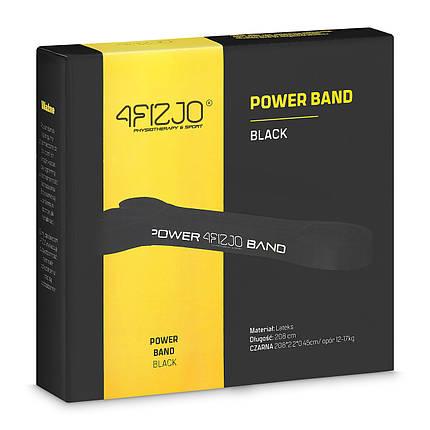 Эспандер-петля (резинка для фитнеса и спорта) 4FIZJO Power Band 21 мм 12-17 кг 4FJ1066, фото 2