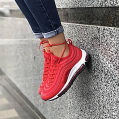 Женские кроссовки Nike Air Max 97 Red (36, 37, 40 размеры)