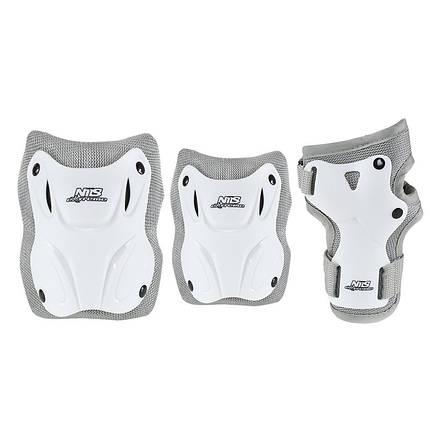 Комплект защитный Nils Extreme H407 Size XL White/Grey, фото 2