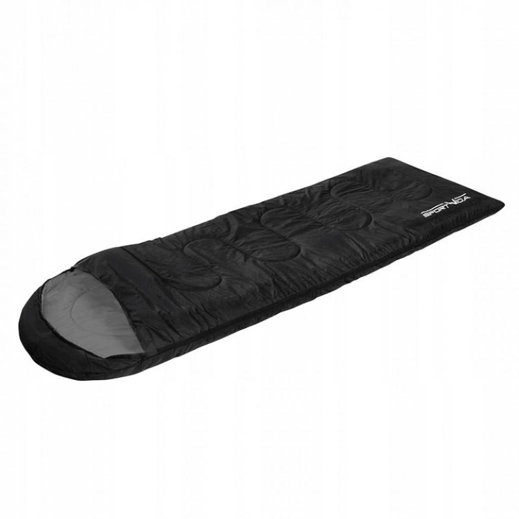 Спальный мешок SportVida SV-CC0022 Black/Grey