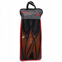Ласты SportVida SV-DN0006-L Size 42-43 Black/Orange, фото 3