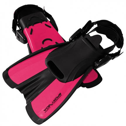 Ласты SportVida SV-DN0008JR-S Size 29-33 Black/Pink, фото 2
