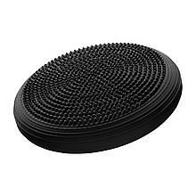 Балансировочная подушка (сенсомоторная) массажная 4FIZJO MED+ 4FJ0051 Black