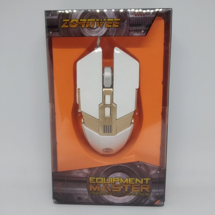 Компьютерная игровая мышь, мышка Zornwee GX20 с подсветкой БЕЛАЯ NEW