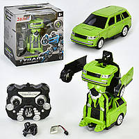 Машина-трансформер на радиоуправлении Зеленый (T3903)