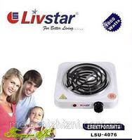 Нагревательная плита, 1000 Ватт. Livstar LSU-4077 (Арт. 4077)